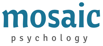 mosaic psychology logo ribbon